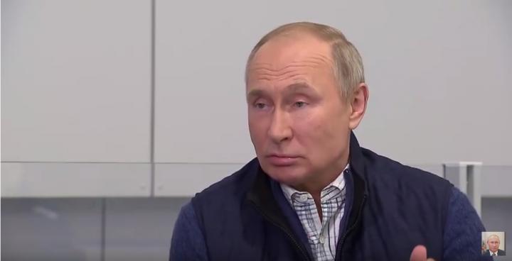 У бортика за гранью. Об одном из последних интервью президента РФ