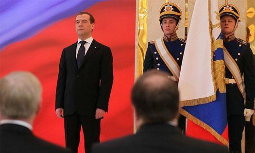 Медведев в Кремле