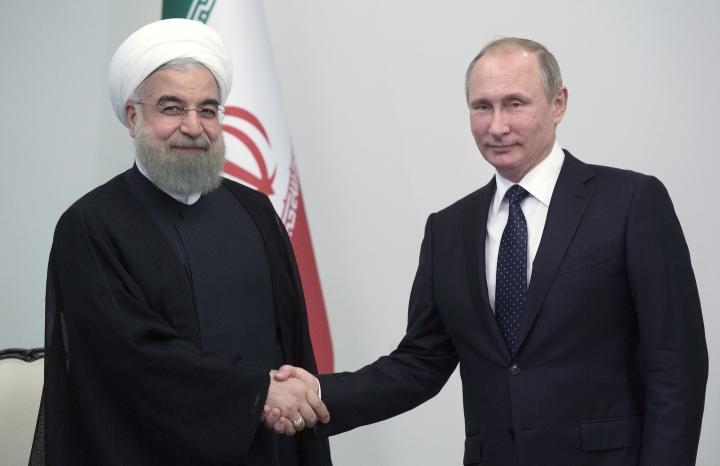 Политика Путина помогла укрепиться сотрудничеству с Ираном